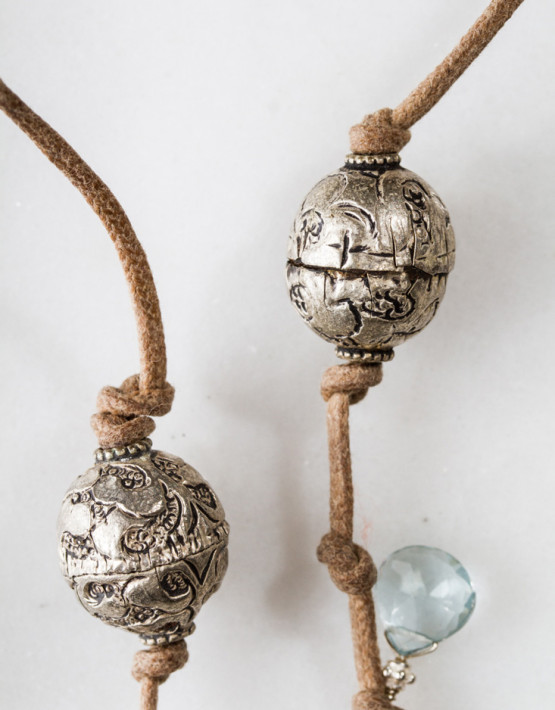 Lara SS Aq Pearl w Tibetan Balls Det 140-3_full